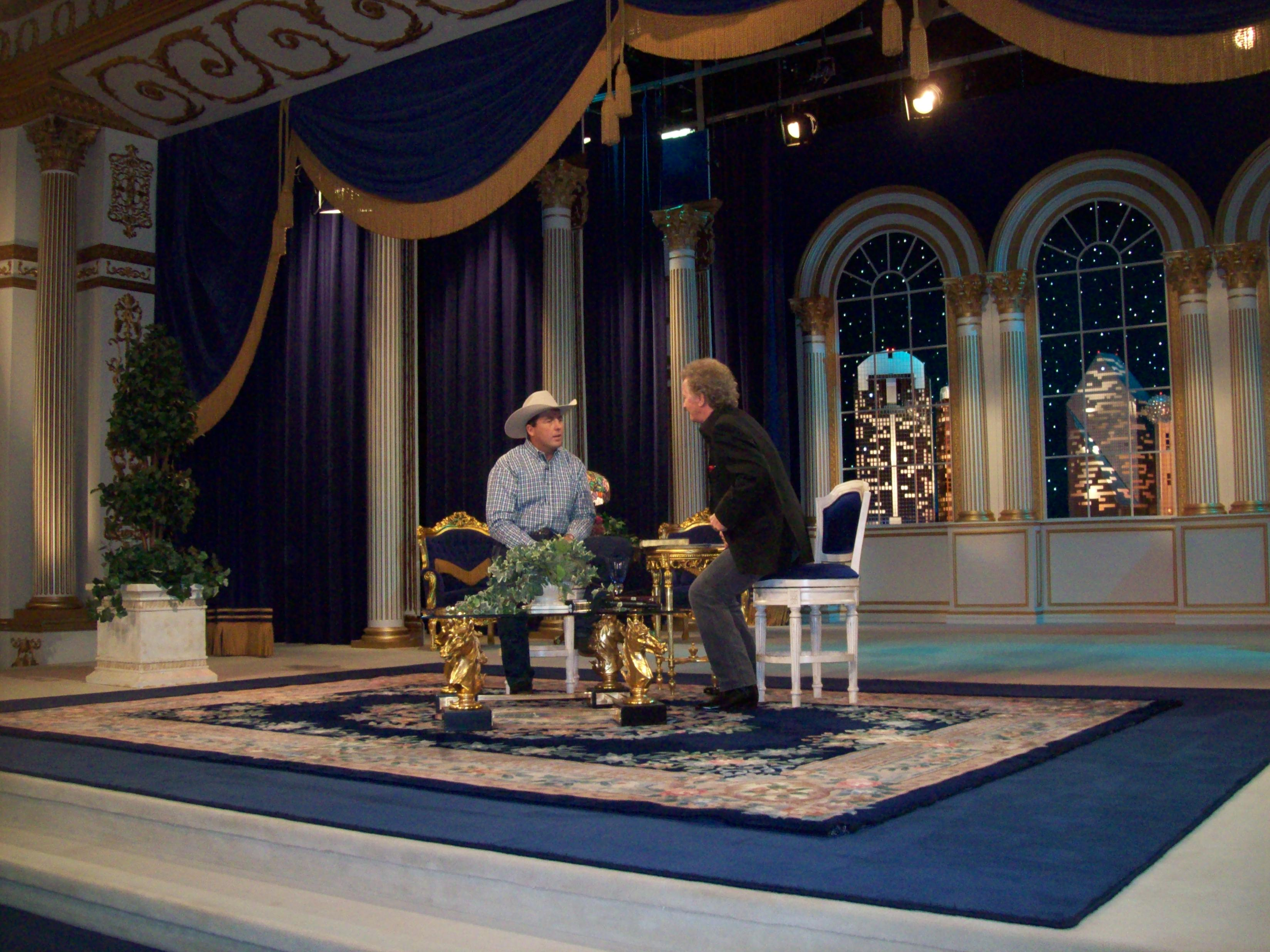 Scott being interviewed on TBN Sept 15 with Dewight Thompson